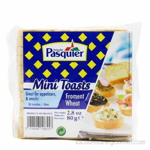 Brioche Pasquier - Mini French Toasts 2.8Oz (70G) - brioche - La Courtisane Gourmet Food
