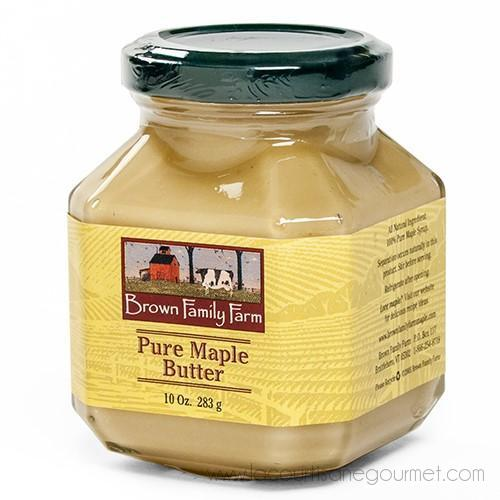 Brown Family Farm - Pure Maple Butter 10 Oz - Spread - La Courtisane Gourmet Food