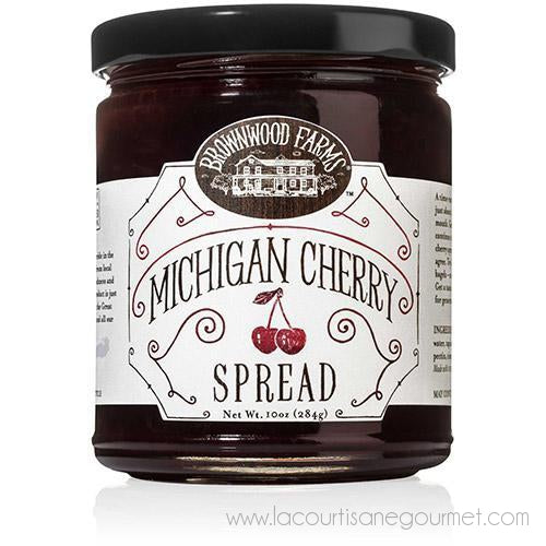 Brownwood Farm - Michigan Cherry Premium Spread 10 Oz - spread - La Courtisane Gourmet Food