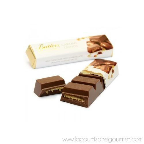 Butlers - Milk Chocolate Candy Bar with Caramel Crunch 2.64 oz - Chocolate Bars - La Courtisane Gourmet Food