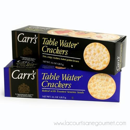 Carr's - English Table Water Crackers 4.4 oz - Crackers - La Courtisane Gourmet Food