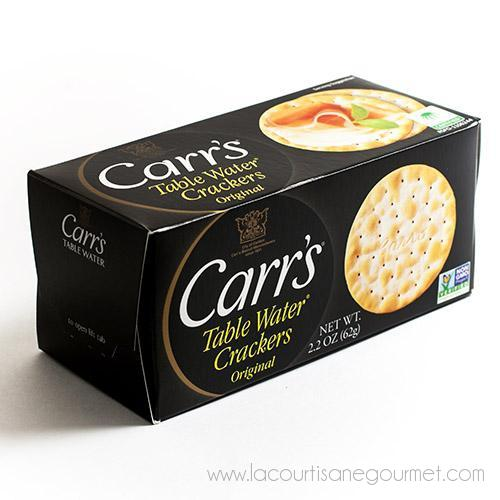 Carr's English Table Water Crackers - Half-Box 2.2 oz - Crackers - La Courtisane Gourmet Food