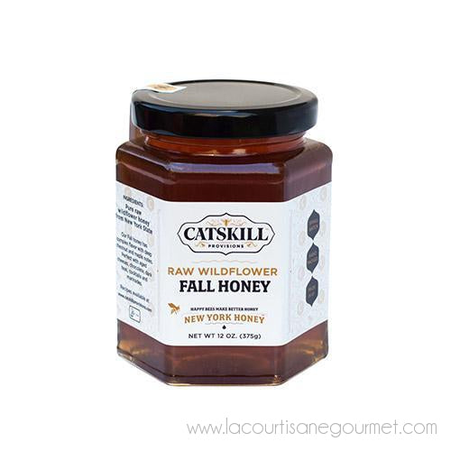 Catskill Provisions - Fall Raw Wildflower Honey 12 oz - Honey - La Courtisane Gourmet Food