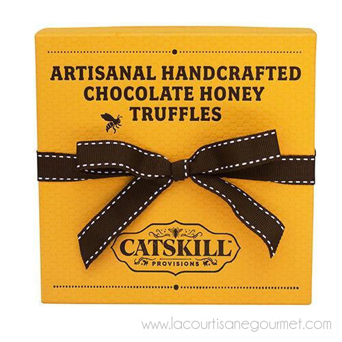 Catskill Provisions - Wildflower Honey Truffles 9 pieces - Chocolate - La Courtisane Gourmet Food
