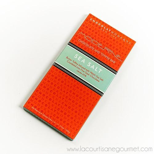 Chocolat Moderne - Moderne Sea Salt Chocolate and Toffee Bar 3.5 oz - Chocolate - La Courtisane Gourmet Food