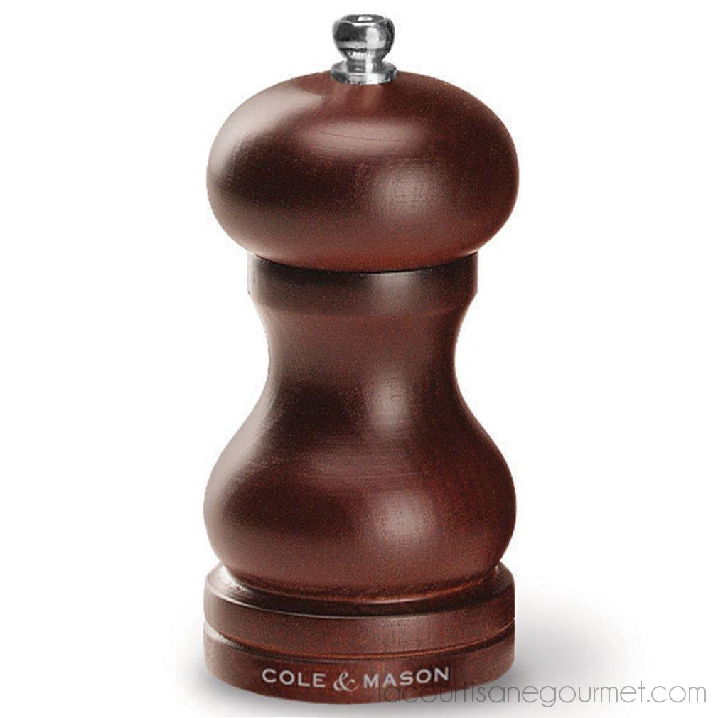Cole & Mason Capstan Wood Salt Grinder - Wooden Mill Includes Precision Mechanism - - La Courtisane Gourmet Food