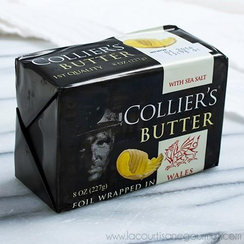 Colliers - Welsh Butter with Sea Salt 8 oz - Butter - La Courtisane Gourmet Food