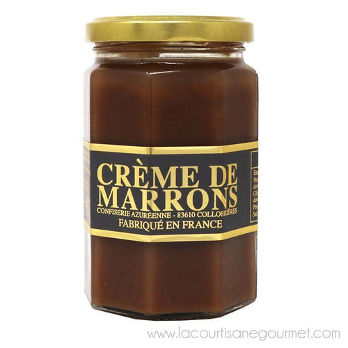 Corsiglia - Artisanal Chestnut Cream (Creme de Marrons) - Chestnut Spread - La Courtisane Gourmet Food