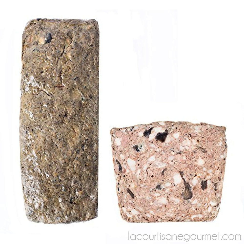 Country Style Pate With Forest Mushrooms - Pate De Campagne Forestier - 3.5Lbs Loaf - Pate - La Courtisane Gourmet Food