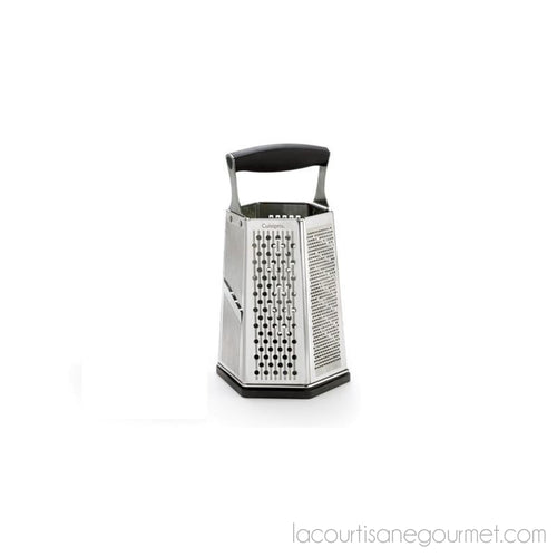 Cuisipro 6-Sided Box Grater With Bonus Ginger Grater - Grater - La Courtisane Gourmet Food
