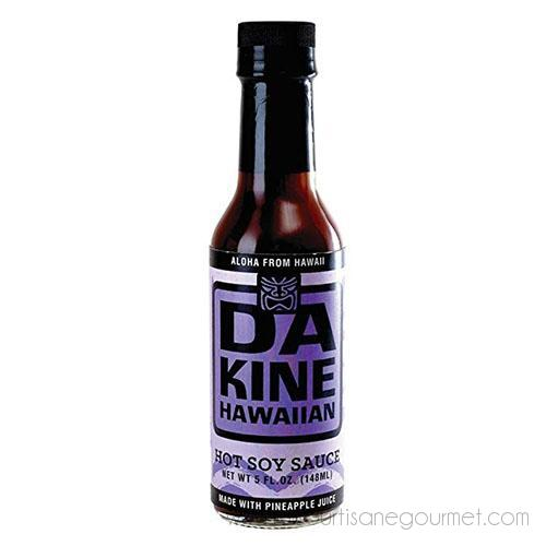 Da Kine Hawaiian - Hot Soy Sauce - Soy Sauce - La Courtisane Gourmet Food
