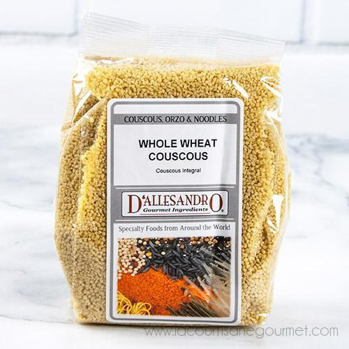 D'Alessandro - Whole Wheat Couscous 12 oz - Wheat - La Courtisane Gourmet Food