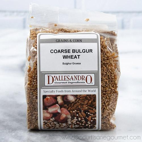 D'Allesandro - Coarse Bulgur Wheat - 12 oz - Rice - La Courtisane Gourmet Food