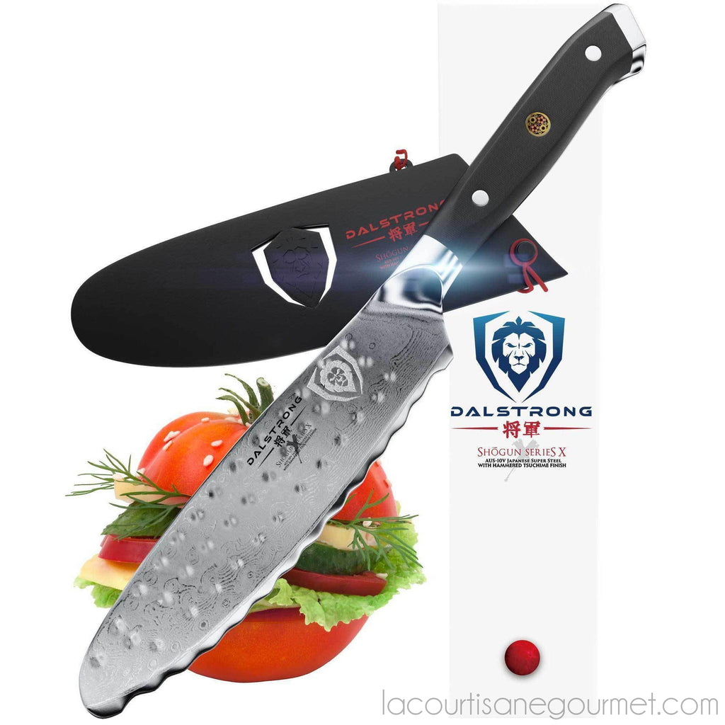 "Dalstrong - Shogun Series X 6"" Ultimate Utility & Sandwich Knife - - La Courtisane Gourmet Food"
