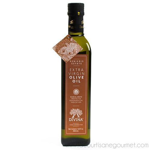 Divina - Renieris Estate Extra Virgin Olive Oil from Crete - Olive Oil - La Courtisane Gourmet Food