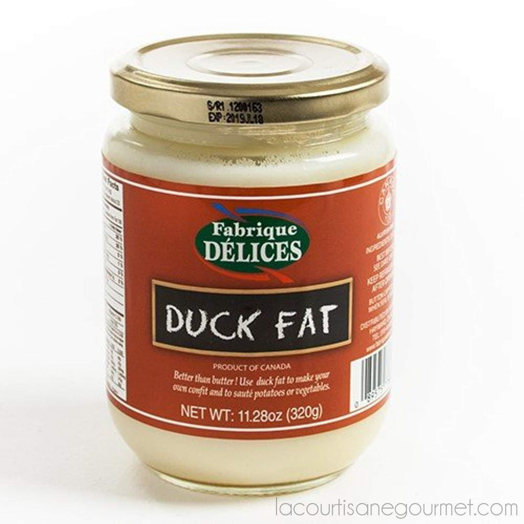 Duck Fat By Fabrique Delices - 320G (11.28 Ounce) - Duck Fat - La Courtisane Gourmet Food