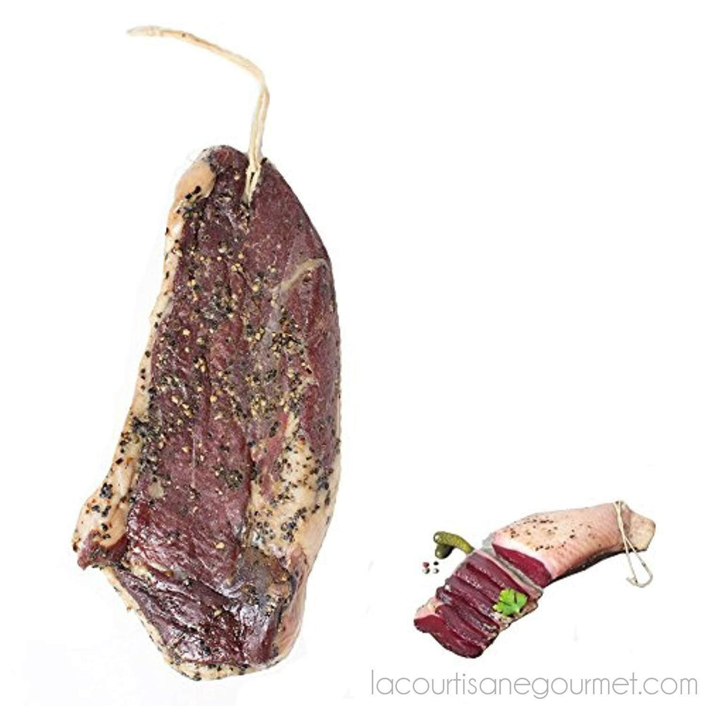 Duck Prosciutto - Dry Cured Duck Breast - 0.75Lbs - Sausage - La Courtisane Gourmet Food