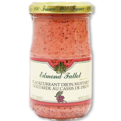 Edmond Fallot Blackcurrant Dijon Mustard 7.2 Oz. (205 G) - Mustard - La Courtisane Gourmet Food