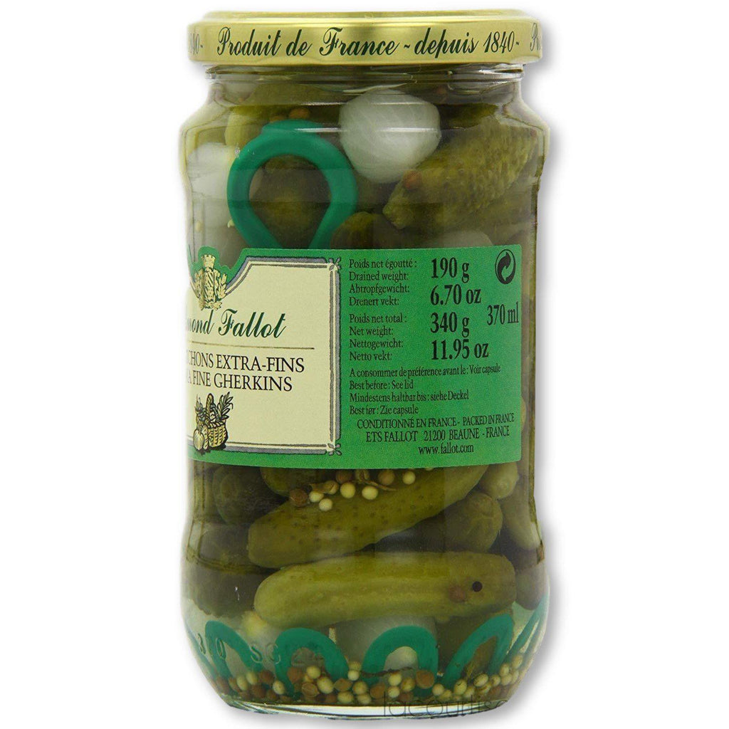 Edmond Fallot Cornichons Gherkins 6.7 Oz (190G) - Pickles - La Courtisane Gourmet Food