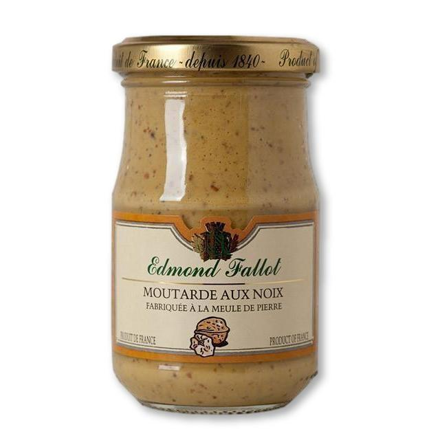 Edmond Fallot Walnut Mustard 7.4 Oz (210G) - Mustard - La Courtisane Gourmet Food