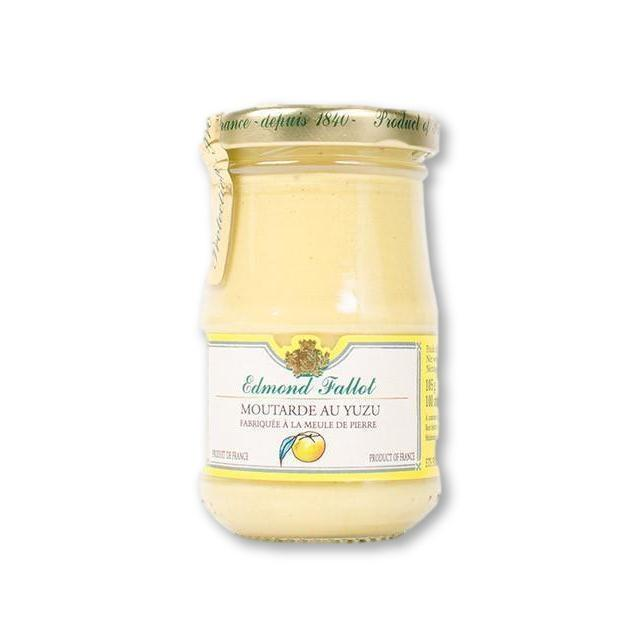 Edmond Fallot Yuzu Mustard 7.4 Oz (210G) - Mustard - La Courtisane Gourmet Food