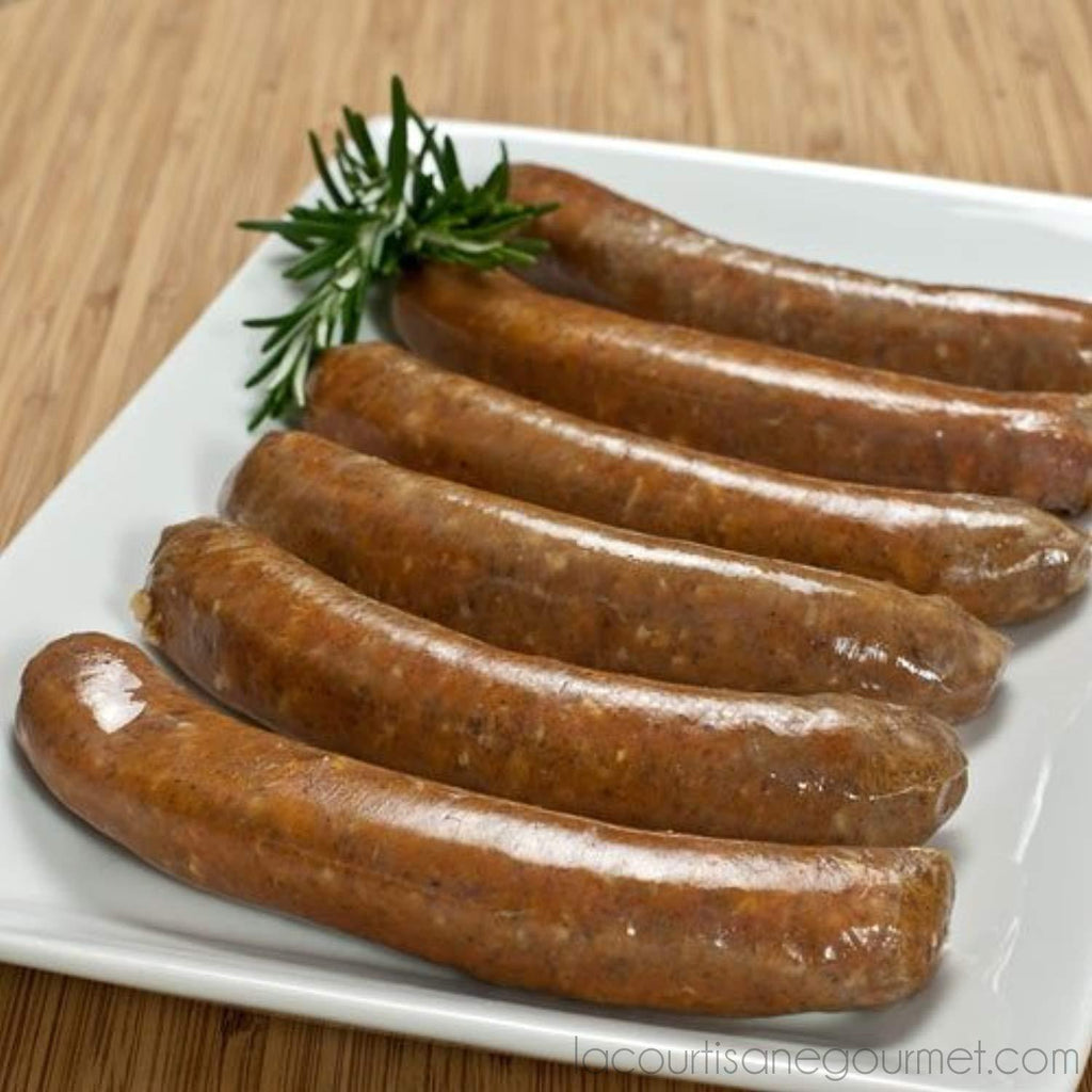 Fabrique Delices - All Natural Merguez Sausages 6 Links .75 Lb (340G) - Sausage - La Courtisane Gourmet Food