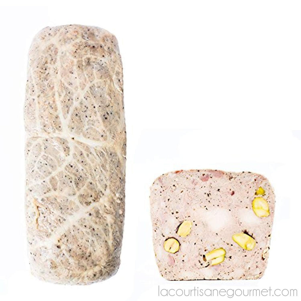 Fabrique Delices - Chicken Terrine With Pistachios - 3.5Lbs - (1360G) - Pate - La Courtisane Gourmet Food