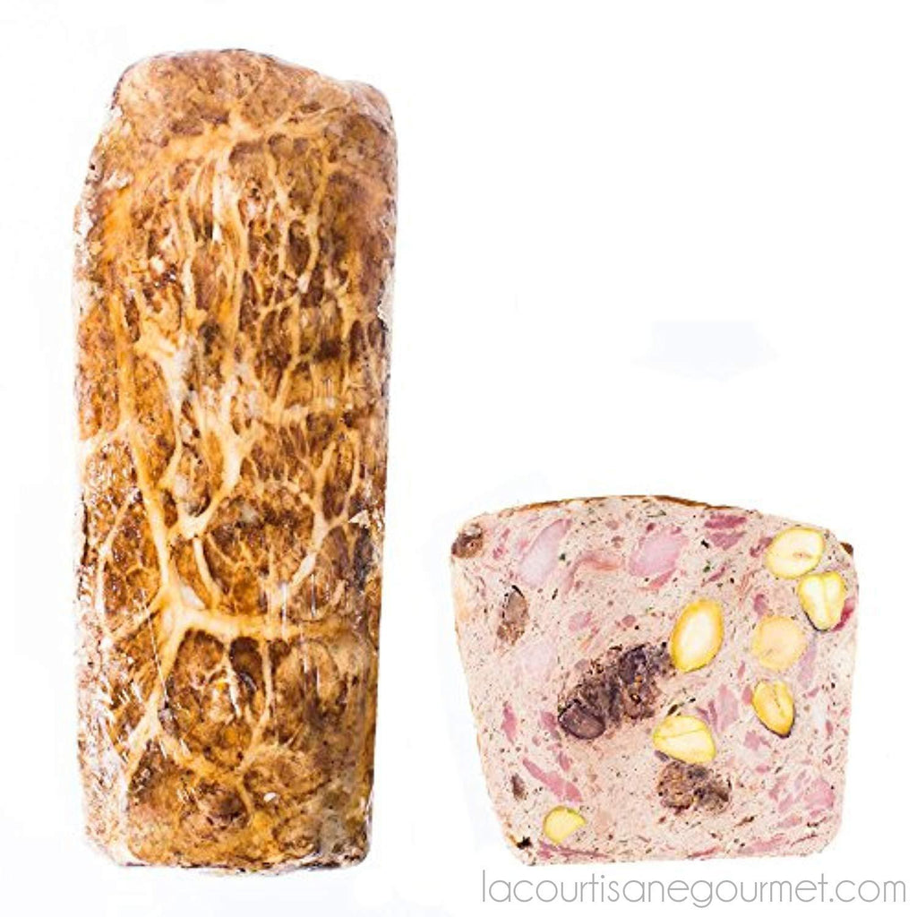 Fabrique Delices - Pheasant Terrine With Figs And Pistachios - 3.5Lbs - (1360G) - Pate - La Courtisane Gourmet Food