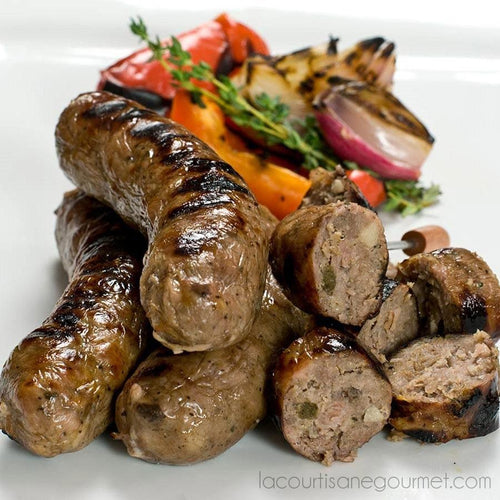 Fabrique Delices - Wild Boar Sausage 4 Links 1Lb (454G) - Sausage - La Courtisane Gourmet Food