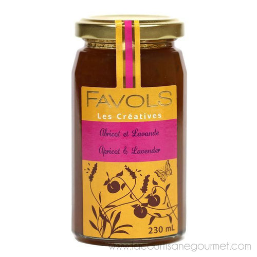 Favols - Apricot Lavender Jam, 270g Jar - Jam - La Courtisane Gourmet Food