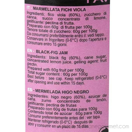 Favols - Black Fig Jam, 270g (9.5 oz) - Jam - La Courtisane Gourmet Food