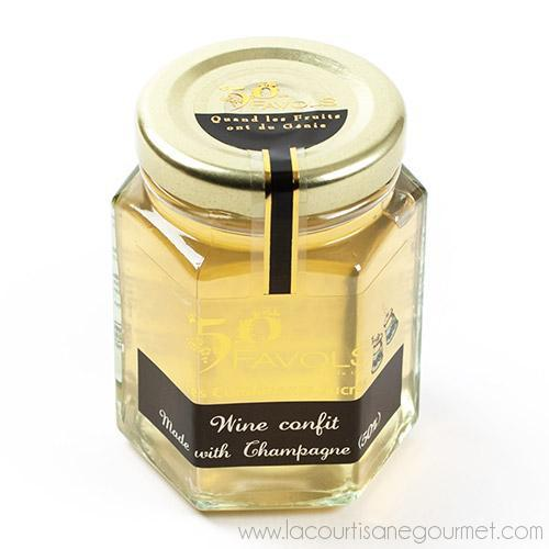 Favols - Champagne Confit 3.9 oz - Jam - La Courtisane Gourmet Food