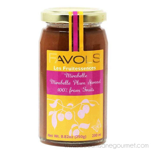Favols - Mirabelle Plum Jam (100% Fruit, No Sugar, No Pectin), 250g Jar - Jam - La Courtisane Gourmet Food