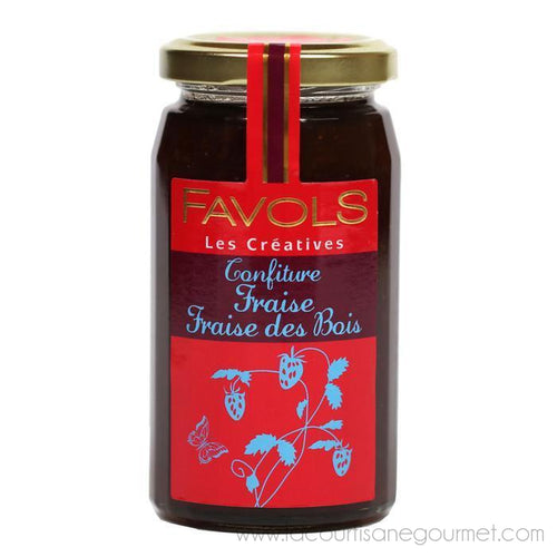 Favols - Wild Strawberry Jam, 270g Jar - Jam - La Courtisane Gourmet Food