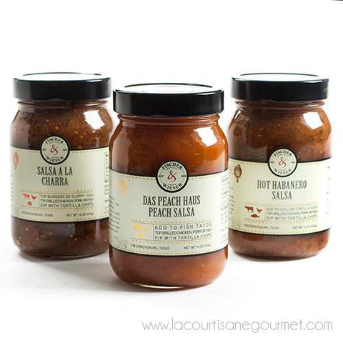 Fischer and Wieser - Salsa 12 oz - Salsa Sauce - La Courtisane Gourmet Food
