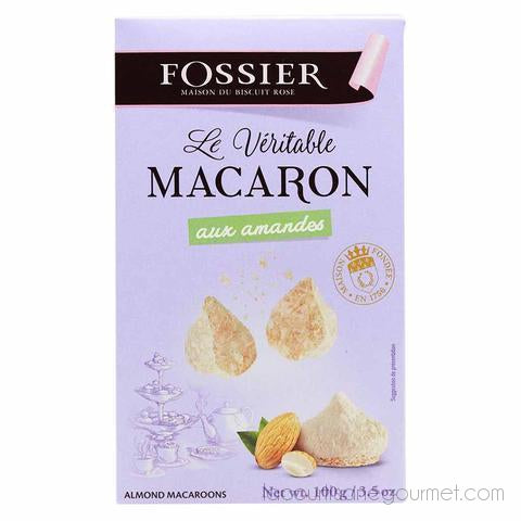 Fossier - French Almond Macaroons 3.5Oz (100G) - cookies - La Courtisane Gourmet Food