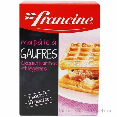 Francine - Waffle Mix Box - 11 Oz (350G) - Mix - La Courtisane Gourmet Food