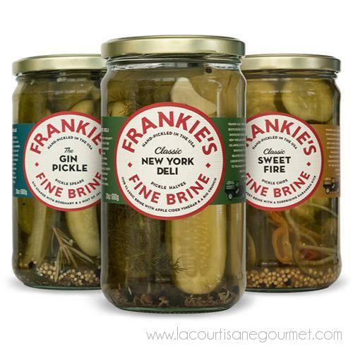 Frankies Fine Brine Pickles - Pickles - La Courtisane Gourmet Food