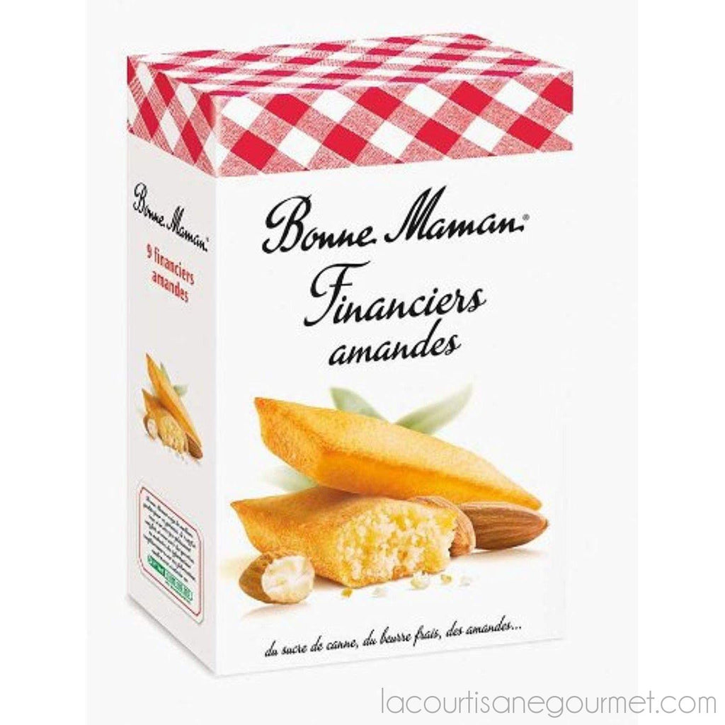 French Financial Almonds Bonne Maman-Financiers Aux Amandes Bonne Maman - 4,76 Oz - cookies - La Courtisane Gourmet Food