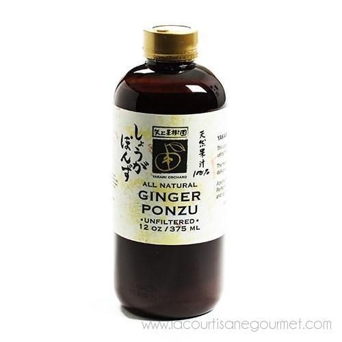 Ginger Ponzu 375 ml - Ginger Ponzu - La Courtisane Gourmet Food