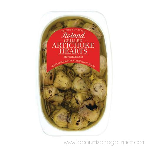 Grilled Artichoke Hearts Marinated in Vinegar and Oil 67 oz - Artichoke - La Courtisane Gourmet Food