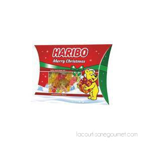 Haribo Christmas Gummy Pillow Pack, 7.76 Oz (220 G) - - La Courtisane Gourmet Food