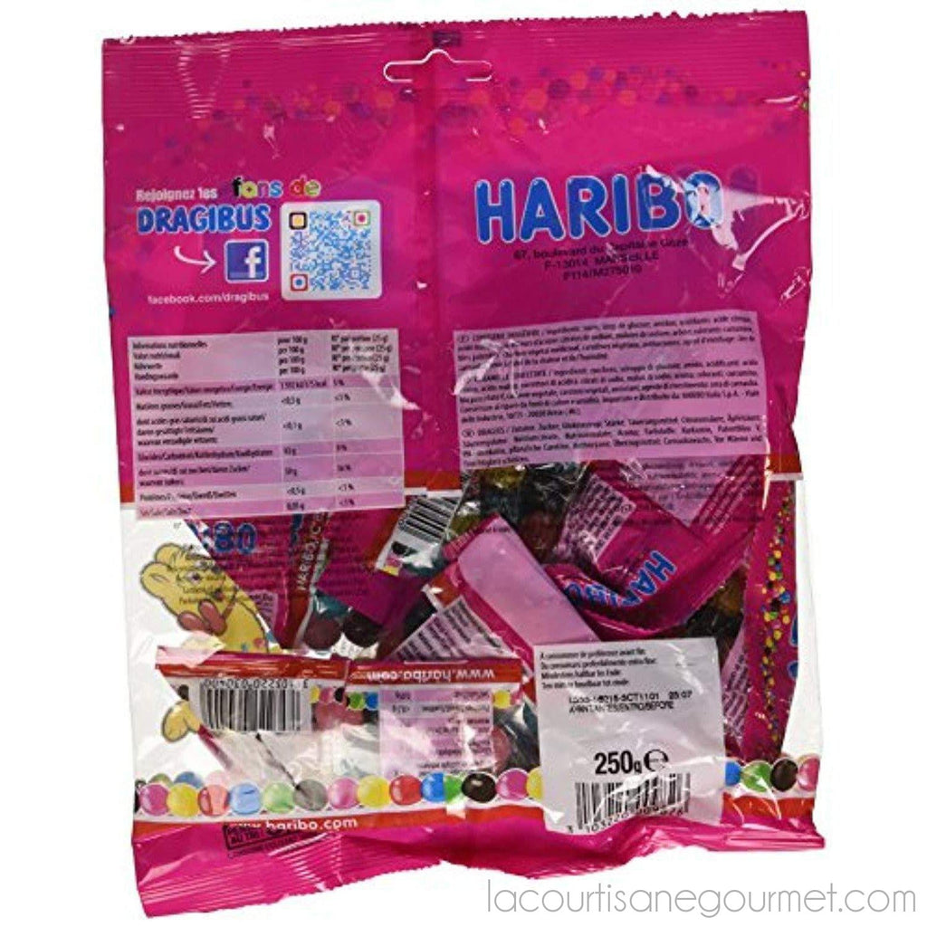 Haribo Dragibus French 250 Grams Mini-Size Candies - candies - La Courtisane Gourmet Food