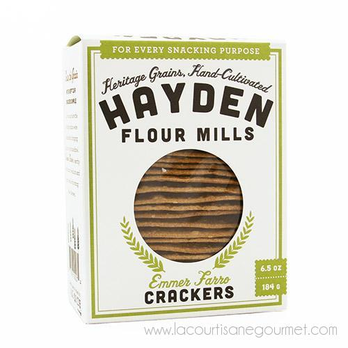 Hayden Flour Mills - Farro Crackers 6.5 Oz - Crackers - La Courtisane Gourmet Food