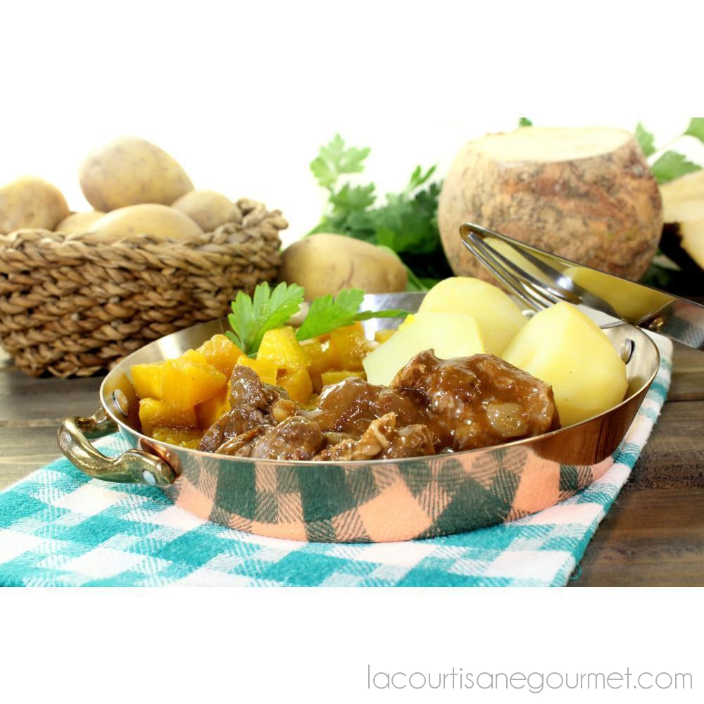 Hearty Beef Stew - Product - La Courtisane Gourmet Food