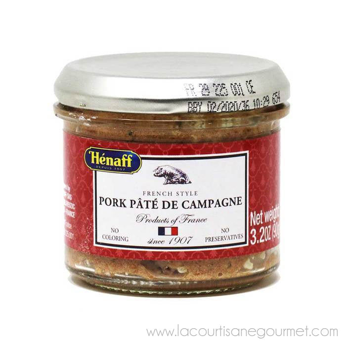 Henaff French Countryside Pork Pate 3.2 Oz (90G) - Pate - La Courtisane Gourmet Food