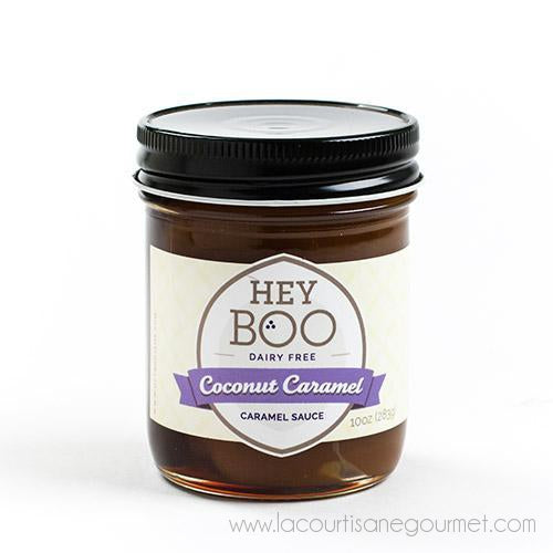 Hey Boo - Coconut Caramel Sauce 10 oz - Caramel Sauce - La Courtisane Gourmet Food