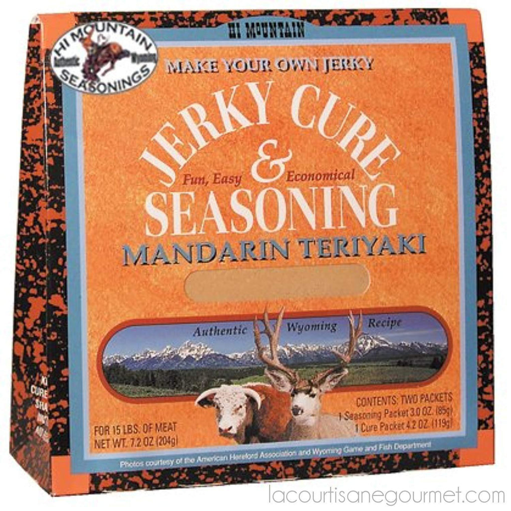 Hi Mountain Jerky Seasoning – Mandarin Teriyaki Blend – 7.2 Ounces - Seasonning - La Courtisane Gourmet Food