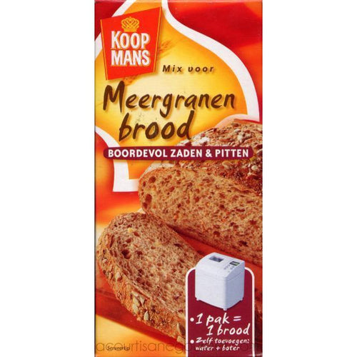 Koopman´s - Multi Grain Brown Bread Mix 15.8 oz - Baking Ingredients - La Courtisane Gourmet Food