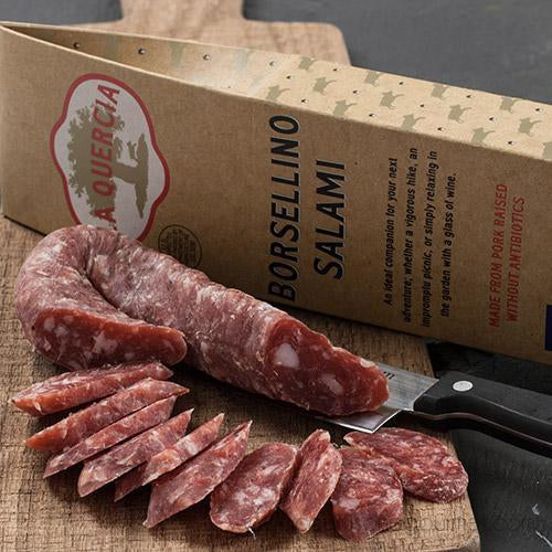 La Quercia - Borsellino Salami 6 Oz - - La Courtisane Gourmet Food